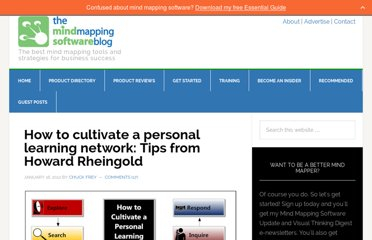 http://mindmappingsoftwareblog.com/personal-learning-network/