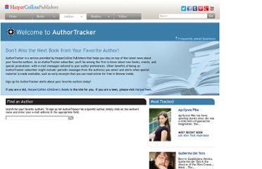 http://www.harpercollins.com/Members/AuthorTracker/
