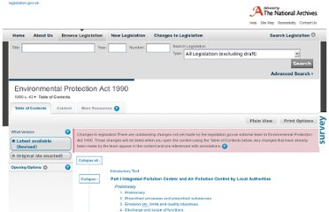 http://www.legislation.gov.uk/ukpga/1990/43/contents