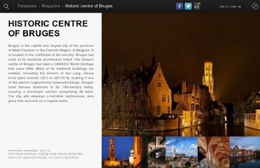 http://www.fotopedia.com/magazine/stories/SYmGxXckRhA/Historic_Centre_of_Bruges