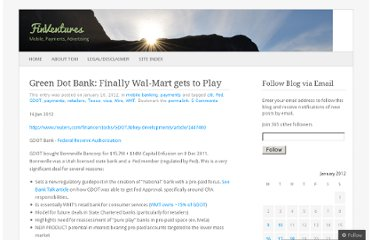 http://tomnoyes.wordpress.com/2012/01/16/green-dot-bank-finally-wal-mart-gets-to-play/