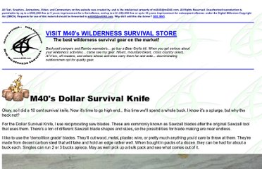http://www.m4040.com/Survival/DollarSurvivalKnife/Dollar_Survival_Knife.htm