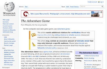 http://en.wikipedia.org/wiki/The_Adventure_Game