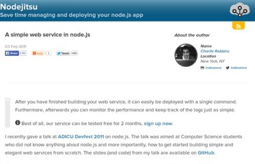 http://blog.nodejitsu.com/a-simple-webservice-in-nodejs