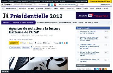 http://www.lemonde.fr/election-presidentielle-2012/article/2012/01/17/agences-de-notation-la-lecture-flatteuse-de-l-ump_1630868_1471069.html
