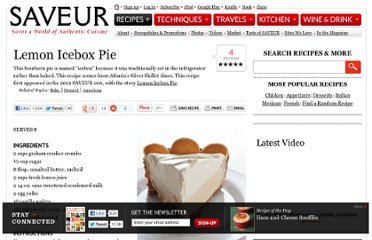 http://www.saveur.com/article/Recipes/silver-skillet-lemon-icebox-pie