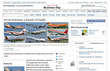 http://www.nytimes.com/2011/12/24/business/on-the-exterior-of-jetliners-a-parade-of-plain-vanilla.html?_r=1&pagewanted=all