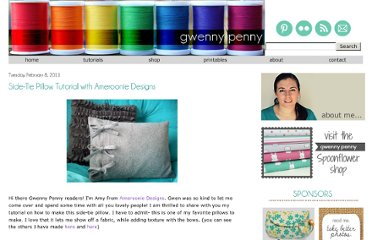 http://www.gwennypenny.com/2011/02/side-tie-pillow-tutorial-with-ameroonie.html
