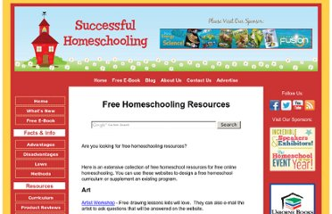 http://www.successful-homeschooling.com/free-homeschooling-resources.html