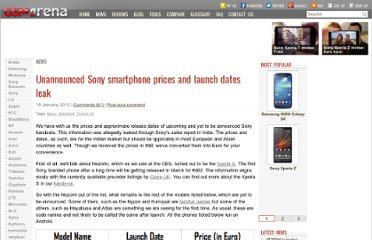 http://www.gsmarena.com/unannounced_sony_android_smartphone_prices_and_launch_dates_leak-news-3681.php