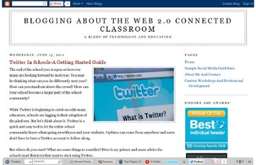 http://blog.web20classroom.org/2011/06/twitter-in-schools-getting-started.html