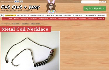 http://www.cutoutandkeep.net/projects/metal_coil_necklace
