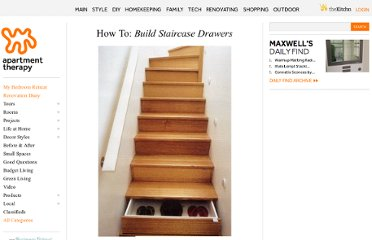 http://www.apartmenttherapy.com/how-to-make-your-stairs-into-s-38329