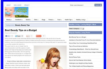 http://www.healthcourage.com/health-and-beauty/best-beauty-tips-on-a-budget