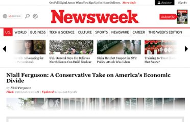 http://www.thedailybeast.com/newsweek/2012/01/15/niall-ferguson-a-conservative-take-on-america-s-economic-divide.html