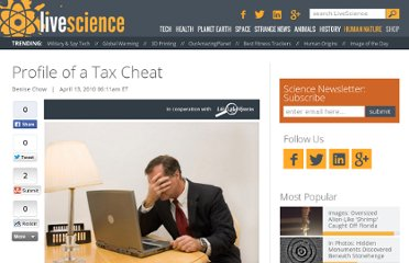 http://www.lifeslittlemysteries.com/452-profile-of-a-tax-cheat.html