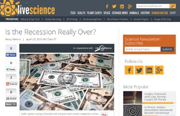 http://www.lifeslittlemysteries.com/465--is-the-recession-really-over-.html