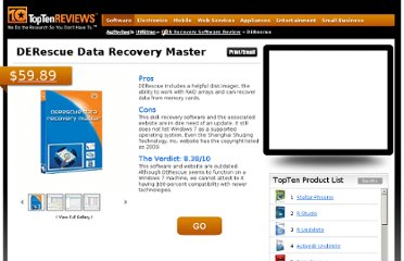http://disk-recovery-software-review.toptenreviews.com/derescue-data-recovery-master-review.html
