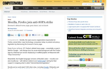 http://www.computerworld.com/s/article/9223509/Mozilla_Firefox_join_anti_SOPA_strike