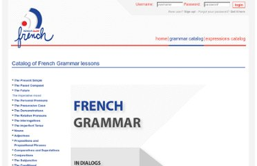 http://www.newsinslowfrench.com/catalog/french-grammar-online/