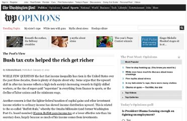 http://www.washingtonpost.com/opinions/bush-tax-cuts-helped-the-rich-get-richer/2012/01/06/gIQALoi53P_story.html