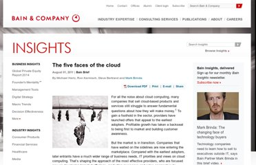 http://www.bain.com/publications/articles/five-faces-of-the-cloud.aspx