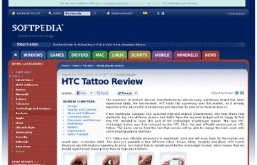 http://news.softpedia.com/news/HTC-Tattoo-Review-121978.shtml