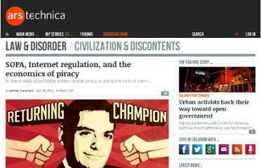 http://arstechnica.com/tech-policy/news/2012/01/internet-regulation-and-the-economics-of-piracy.ars