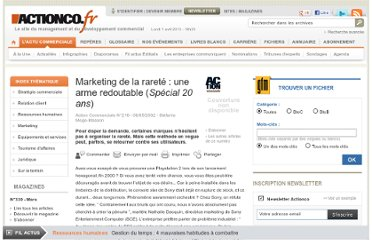 http://www.actionco.fr/Action-Commerciale/Article/Marketing-de-la-rarete-une-arme-redoutable-iSpecial-20-ans-i--723-1.htm#