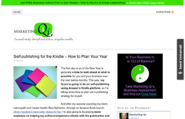 http://marketingqi.com/blog/2012/01/self-publishing-for-the-kindle-how-to-plan-your-year/