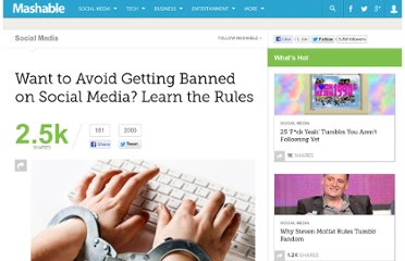 http://mashable.com/2012/01/18/social-media-tos-bans/