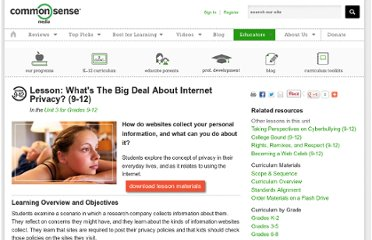 http://www.commonsensemedia.org/educators/lesson/whats-big-deal-about-internet-privacy-6-8