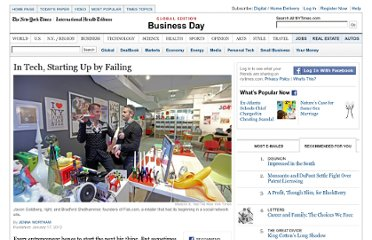 http://www.nytimes.com/2012/01/18/business/for-some-internet-start-ups-a-failure-is-just-the-beginning.html?_r=3&pagewanted=all