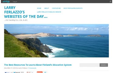 http://larryferlazzo.edublogs.org/2010/12/27/the-best-resources-to-learn-about-finlands-education-system/