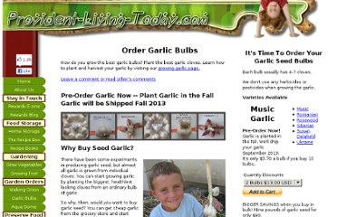 http://www.provident-living-today.com/Garlic-Bulbs.html