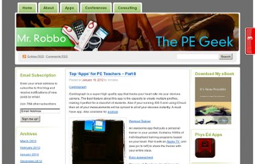 http://thepegeek.com/2012/01/19/top-apps-for-pe-teachers-part-8/
