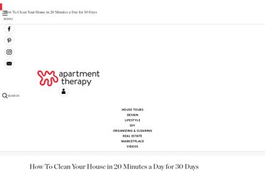 http://www.apartmenttherapy.com/the-schedule-house-cleaning-in-131142