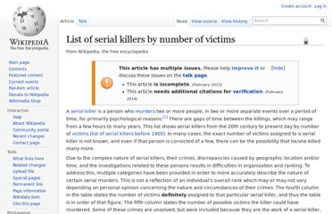 http://en.wikipedia.org/wiki/List_of_serial_killers_by_number_of_victims