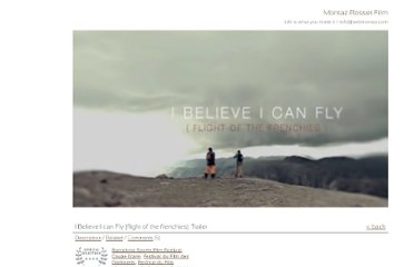 http://www.sebmontaz.com/sections/6-featured/videos/69-i-believe-i-can-fly-flight-of-the-frenchies-trailer