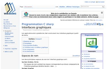 http://fr.wikibooks.org/wiki/Programmation_C_sharp/Interfaces_graphiques