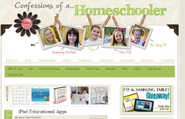 http://www.confessionsofahomeschooler.com/blog/2011/10/ipad-educational-apps.html