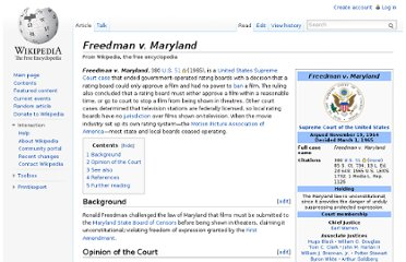 http://en.wikipedia.org/wiki/Freedman_v._Maryland