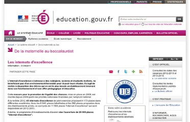 http://www.education.gouv.fr/cid50541/les-internats-d-excellence.html#