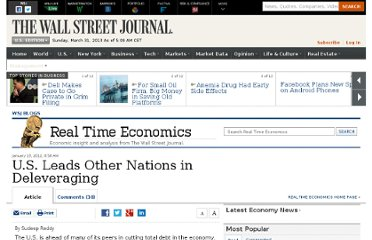 http://blogs.wsj.com/economics/2012/01/19/u-s-leads-other-nations-in-deleveraging/