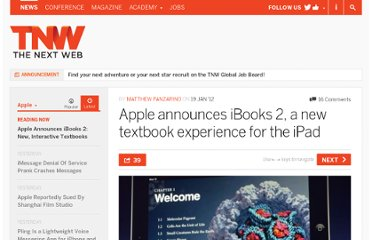 http://thenextweb.com/apple/2012/01/19/apple-announces-ibooks-2-a-new-textbook-experience-for-the-ipad-at-education-event-in-nyc/