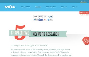 http://www.seomoz.org/beginners-guide-to-seo/keyword-research