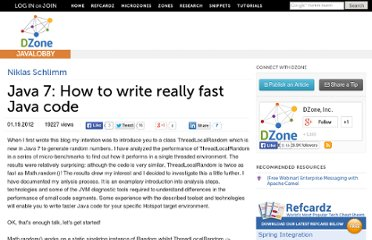 http://java.dzone.com/articles/java-7-how-write-really-fast