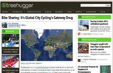 http://www.treehugger.com/bikes/bike-sharing-its-global-city-cyclings-gateway-drug.html