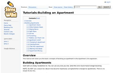 http://simswiki.info/wiki.php?title=Tutorials:Building_an_Apartment#Renting_Furnished