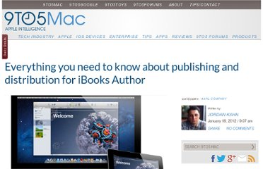 http://9to5mac.com/2012/01/19/everything-you-need-to-know-about-publishing-and-distribution-for-ibooks-author/